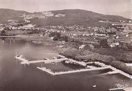 Savoie        H850       Aix Les Bains.Le Grand Port Et La Colline De Corouet.Vue Aérienne - Aix Les Bains