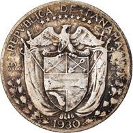 Monnaie, Panama, 1/4 Balboa, 1930, TTB, Argent, KM:11.1 - Panama