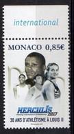 Monaco 2017. 30 Years Of Athletics At Louis II. Sport, Athletics.   MNH - Unused Stamps