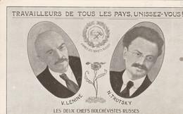 V. Lénine N. Trotski--Les Deux Chefs Bolchévistes Russes. Scan - Political Parties & Elections