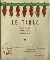 1933 - LE TABAC - Culture Maladies Engrais - Coene-Geets Malines - Mechelen - Tabak - 1901-1940