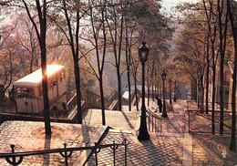 75-PARIS FUNICULAIRE DE MONTMARTRE-N°4177-C/0171 - Other