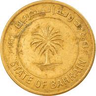 Monnaie, Bahrain, 10 Fils, 1992/AH1412, TB+, Laiton, KM:17 - Bahrain