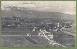 CPA - SAVOIE - MONTMÉLIAN - ROUTE DE CHAMBERY - QUARTIER DE LA GARE - édition L. Blanc / 200 - Montmelian