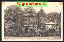 DEN HAAG Oud-Hollandsch Marktplein Kasteel Van Buren 1909 - Den Haag ('s-Gravenhage)
