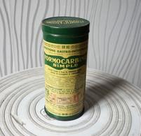 Boite Métal Ancienne De FORMOCARBINE Simple - Medizinische Und Zahnmedizinische Geräte