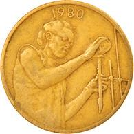 Monnaie, West African States, 25 Francs, 1980, Paris, TB+, Aluminum-Bronze, KM:9 - Ivory Coast
