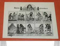 Bund BRD -- Doctor Eisenbart - 10 Story's /Bilder - AK Postcard (II.Wahl ! - 2 Foto)(7131AK) - Non Classificati