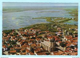 FRANKREICH - Les Saintes-Maries-de-la-mer - Luftbild -- AK Postcard Cover (2 Scan)(9970AK) - Saintes Maries De La Mer