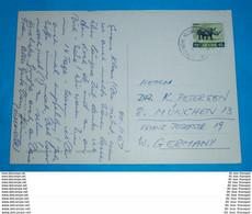 KENIA KENYA - AK Postcard - Brief Letter Lettre 信 Lettera Carta пи�?ьмо Brev 手紙 จดหมาย Cover Envelope (2 Foto)(34338) - Kenya (1963-...)