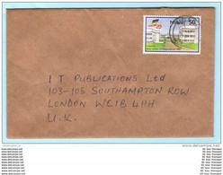 MALAWI - Brief Cover Lettre - 531 Unabhängigkeit 25 Jahre (Scan)(24085) - Malawi (1964-...)