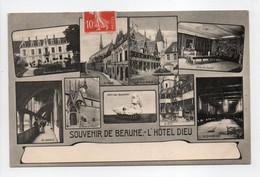 - CPA SOUVENIR DE BEAUNE (21) - L'Hôtel Dieu 1908 (multivues) - Editions Ronco - - Beaune