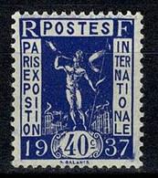 France 1936 Yv. 324**  - MNH (2 Scans) - Unused Stamps