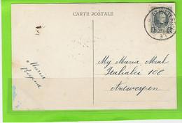 Fantasiekaart Met OCB 193 - Afstempeling ST.PIETERS LILLE Relais - 1922-1927 Houyoux