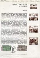 DOCUMENT PHILATELIQUE OFFICIEL N°11-75 - ARPHILA 75 GRAPHISME PARIS ART ET PHILATELIE - GRAVURE - 12° CONGRES DE L'UNION - Lettres & Documents