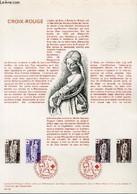 DOCUMENT PHILATELIQUE OFFICIEL N°44-76 - CROIX ROUGE - EGLISE DE BROU : ST BARBE ET SIBYLLE CIMMERIENNE N°1910-11 YVERT - Lettres & Documents