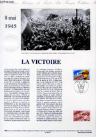 DOCUMENT PHILATELIQUE OFFICIEL - 8 MAI 1945 - LA VICTOIRE (N°2944 YVERT ET TELLIER) - ANDREOTTO - 1995 - Lettres & Documents