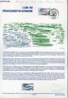 DOCUMENT PHILATELIQUE OFFICIEL - 6 JUIN 1944 - DEBARQUEMENT EN NORMANDIE (N°288 YVERT ET TELLIER) - FORGET PIERRE - 1994 - Lettres & Documents