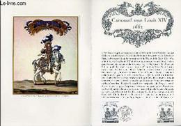 DOCUMENT PHILATELIQUE OFFICIEL N°02-78 - CARROUSEL SOUS LOUIS XIV 1662 (N°1983 YVERT ET TELLIER) - *** - 1978 - Lettres & Documents