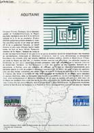 DOCUMENT PHILATELIQUE OFFICIEL N°14-76 - AQUITAINE (N°1864 YVERT ET TELLIER) - BARRAU R. - 1976 - Lettres & Documents