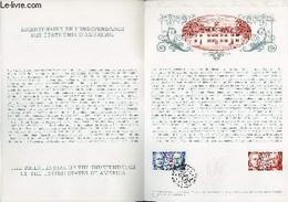 DOCUMENT PHILATELIQUE OFFICIEL N°12-76 - BICENTENAIRE DE L'INDEPENDANCE DES ETATS-UNIS D'AMERIQUE (N°1879 YVERT ET TELLI - Lettres & Documents