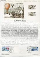 DOCUMENT PHILATELIQUE OFFICIEL N°12-79 - EUROPA 1979 - BALLON-POSTE - BOULES DE MOULINS (N°2046-47 YVERT ET TELLIER) - B - Lettres & Documents