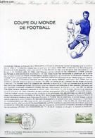DOCUMENT PHILATELIQUE OFFICIEL N°15-82 - COUPE DU MONDE DE FOOTBALL (N°2209 YVERT ET TELLIER) - BETEMPS - 1982 - Lettres & Documents