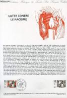 DOCUMENT PHILATELIQUE OFFICIEL N°11-82 - LUTTE CONTRE LE RACISME (N°2204 YVERT ET TELLIER) - DESSIVIEV R. - LACAQUE SC - - Lettres & Documents