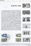 DOCUMENT PHILATELIQUE OFFICIEL N°14-82 - EUROPA 1982 : TRAITE DE VERDUN TRAITE DE ROME (N°2207-08 YVERT ET TELLIER) - ** - Lettres & Documents