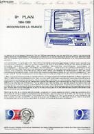DOCUMENT PHILATELIQUE OFFICIEL N°42-84 - 9° PLAN 1984-1988 MODERNISER LA FRANCE (N°2346 YVERT ET TELLIER) - ANDREOTTO - - Lettres & Documents