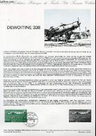 DOCUMENT PHILATELIQUE OFFICIEL N°15-87 - DEWOITINE 338 (N°AV 60 YVERT ET TELLIER) - JUMELET SC - JOUX DEL J. DE - 1987 - Lettres & Documents
