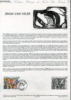 DOCUMENT PHILATELIQUE OFFICIEL N°14-87 - BRAM VAN VELDE (N°2473 YVERT ET TELLIER) - LACAQUE E. - 1987 - Lettres & Documents