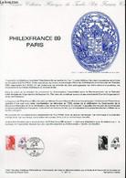 DOCUMENT PHILATELIQUE OFFICIEL N°12-87 - PHILEXFRANCE 89 PARIS (N°2461 YVERT ET TELLIER) - FORGET P. - 1987 - Lettres & Documents