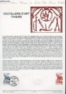 DOCUMENT PHILATELIQUE OFFICIEL N°11-87 - COUTELLERIE D'ART THIERS (N°2467 YVERT ET TELLIER) - LUBIN P. - 1987 - Lettres & Documents