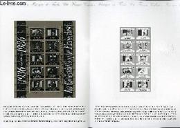DOCUMENT PHILATELIQUE OFFICIEL N°34-86 - 50° DE LA CINEMATHEQUE (N°bf 9 YVERT ET TELLIER) - *** - 1986 - Lettres & Documents
