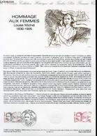 DOCUMENT PHILATELIQUE OFFICIEL N°12-86 - HOMMAGE AUX FEMMES - LOUIS MICHEL 1830-1905 (N°2408 YVERT ET TELLIER) - GUILLAU - Lettres & Documents