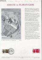 DOCUMENT PHILATELIQUE OFFICIEL N°12-90 - ABBAYE DE FLARAN-GERS (N°2659 YVERT ET TELLIER) - BAILLAIS O. - 1990 - Lettres & Documents