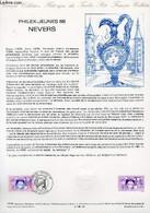 DOCUMENT PHILATELIQUE OFFICIEL N°15-88 - PHILEX-JEUNES 88 - NEVERS (N°2529 YVERT ET TELLIER) - ANDREOTTO - 1988 - Lettres & Documents