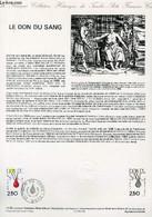 DOCUMENT PHILATELIQUE OFFICIEL N°14-88 - LE DON DU SANG (N°2528 YVERT ET TELLIER) - LAVERGNE A. - 1988 - Lettres & Documents