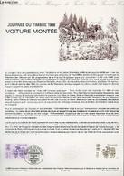 DOCUMENT PHILATELIQUE OFFICIEL N°12-88 - JOURNEE DU TIMBRE 1988 - VOITURE MONTEE (N°2525 YVERT ET TELLIER) - DURRENS C. - Lettres & Documents
