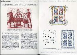 DOCUMENT PHILATELIQUE OFFICIEL N°35-90 - BICENTENAIRE DE LA REVOLUTION FRANCAISE (N°BF N°12 YVERT ET TELLIER) - LARRIVIE - Lettres & Documents