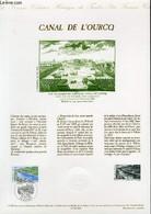 DOCUMENT PHILATELIQUE OFFICIEL N°14-92 - CANAL DE L'OURCQ (N°2764 YVERT ET TELLIER) - BEQUET PIERRE - 1992 - Lettres & Documents