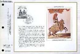 FEUILLET ARTISTIQUE PHILATELIQUE - CEF - N° 435 - LES TUILERIES 1662 - CARROUSEL SOUS LOUIS 14 - COLLECTIF - 1978 - Lettres & Documents