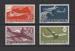 LIECHTENSTEIN.  YT  PA N° 34/37  Neuf **  1960 - Air Post