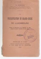 La Prussification Du Grand-duché De Luxembourg - Storia