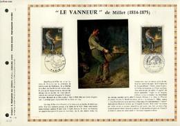 """FEUILLET ARTISTIQUE PHILATELIQUE - PAC - 71 - 12 - """"LE VANNEUR"""" DE MILLET 1814 - 1875 - COLLECTIF - 1971 - Lettres & Documents"""