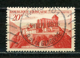 """FRANCE - St BERTRAND DE COMMINGES - N° Yvert 841A Belle Obliteration Ronde De """"PARIS """" De 1951 - Oblitérés"""