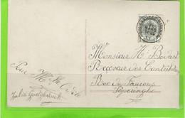 Fantasiekaart Met OCB 81 - Afstempeling ROUSBRUGGE-HARINGHE - COBA 8 - 1893-1907 Coat Of Arms