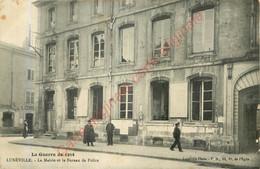 54.  LUNEVILLE .  La Mairie Et Le Bureau De POlice . - Luneville