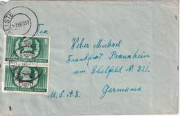 ROUMANIE 1952 LETTRE DE SALISTE - Covers & Documents